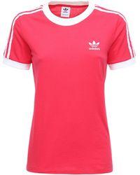 adidas Originals - 3 Stripes コットンtシャツ - Lyst