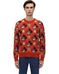 Gucci X Disney Wool Sweater - Orange