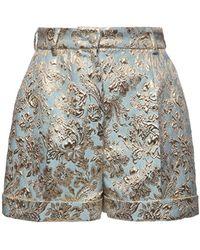 Dolce & Gabbana - ジャカードラメショートパンツ - Lyst