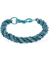"Etro Halskette ""cord"" - Blau"