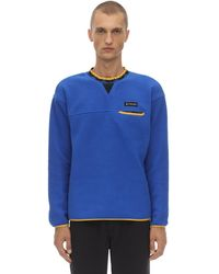 "Columbia Sweatshirt ""wapitoo"", Limit. Ed. - Blau"