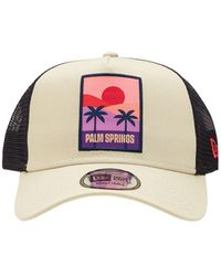 KTZ Summer Patch Trucker Hat - White