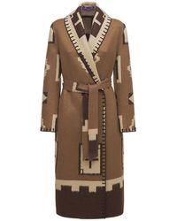 Ralph Lauren Collection Manteau Long En Cachemire Brossé - Neutre