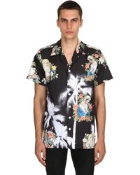 "Lifted Anchors Camicia Bowling ""romeo"" - Nero"