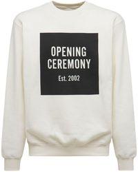 Opening Ceremony Felpa In Jersey Di Cotone - Multicolore
