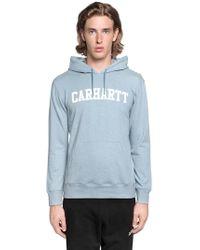 Carhartt - Sweatshirt Mit Kapuze Und Logo - Lyst