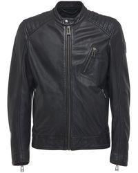 Belstaff Кожаная Куртка V-racer 2.0 - Черный