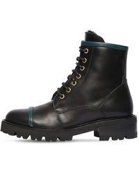 Malone Souliers Кожаные Ботинки-комбат Bryce 30mm - Черный