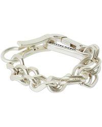 Heron Preston Armband Mit Mehreren Ketten - Mettallic