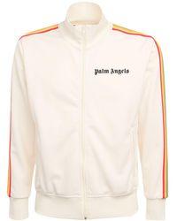 Palm Angels Rainbow Logo Tech Zip Sweatshirt - Многоцветный