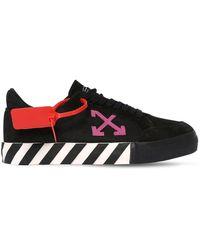 Off-White c/o Virgil Abloh Sneakers In Camoscio Vulcanizzato - Nero