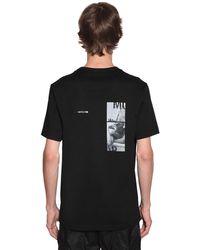 Juun.J コットンジャージーtシャツ - ブラック