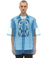 Raf Simons - Рубашка С Короткими Рукавами - Lyst
