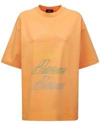 we11done コットンtシャツ - オレンジ