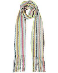 Missoni Écharpe En Tricot De Viscose Rayée - Multicolore