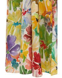 Rosie Assoulin Floral ビスコーススカート - マルチカラー