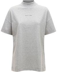 1017 ALYX 9SM Mocktie ジャージーtシャツ - グレー