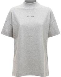 """1017 ALYX 9SM - T-shirt Aus Jersey """"mocktie"""" - Lyst"""