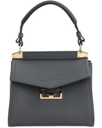 Givenchy Small Mystic Smooth Leather Bag - Gray