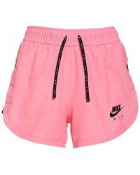 Nike テックランニングショートパンツ - ピンク