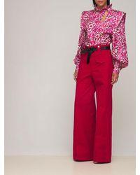 Isabel Marant Chandra シャンタンシルクシャツ - ピンク