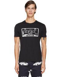 Versace コットンtシャツ - ブラック