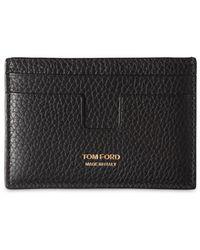 Tom Ford - T Line Classic レザーカードホルダー - Lyst