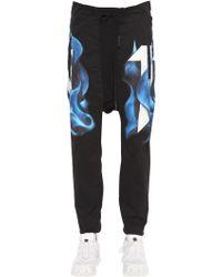 Boris Bidjan Saberi 11 - Printed Cotton Jersey Jogging Trousers - Lyst