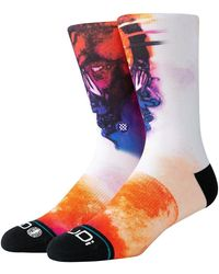 "Stance Calcetines ""Kid Cudi Man On The Moon"" - Blanco"