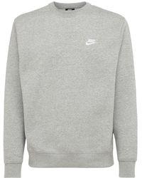 """Nike Sweatshirt """"sport Classic Club"""" - Grau"""