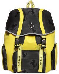 Ferrari Logo Prancing Horse Backpack - Черный