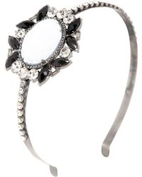 Babe - Victoria Collection Headband - Lyst