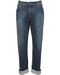 Etro Jeans Mit Stretch-baumwolle - Blau