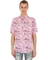 Mauna Kea Hawaii Island シャツ - ピンク