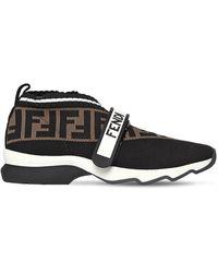 Fendi Слипоны Rockoko С Логотипом Ff - Черный