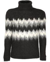 Saint Laurent Coated Skinny Stretch Cotton Denim Jeans - Черный