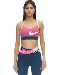 Nike Спортивный Бюстгальтер С Лёгкой Поддержкой - Многоцветный