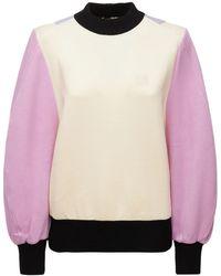 Loewe コットンジャージースウェットシャツ - ピンク