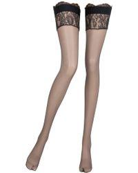 La Perla Precieuse Thigh High Stockings - Black