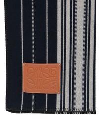 Loewe Decke Aus Wolle Und Kaschmir - Blau