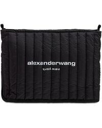 Alexander Wang Elite リップストップナイロンショルダーバッグ - ブラック