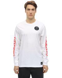 Nike Psg L/s Cotton T-shirt - Белый