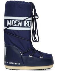 "Moon Boot - ""Stivali Da Neve """"classic"""" In Nylon Impermeabile"" - Lyst"