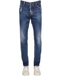 DSquared² 16.5 Cool-guy-jeans Aus Baumwolldenim - Blau