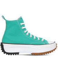 """Converse Sneakers """"run Star Hike Platform"""" - Verde"""