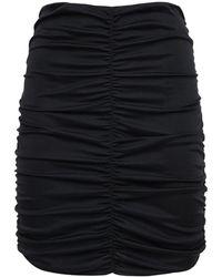Isabel Marant Doroka ジャージーミニスカート - ブラック