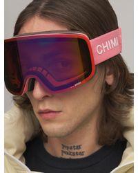 Chimi 01 Pink スキーゴーグル - ピンク