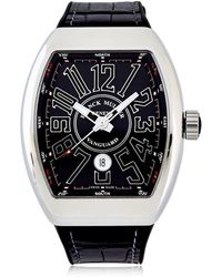Franck Muller - Vanguard Data Solo Tempo 45mm Watch - Lyst