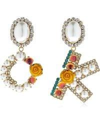 Bijoux De Famille - Ok Blossom Earrings - Lyst