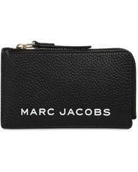 Marc Jacobs - Portafoglio Piccolo In Pelle Con Zip - Lyst